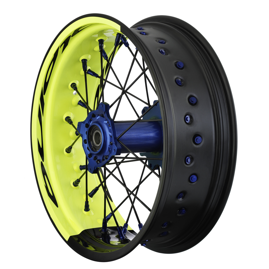 Alpina Bi-Colour Supermoto Wheels