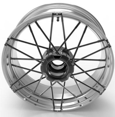 Standard wheel M6 – M9 spokes